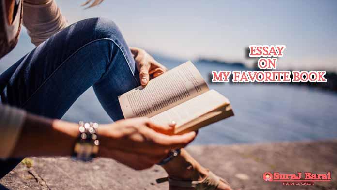 essay on my favorite book hindi
